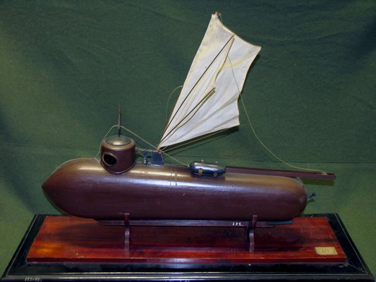 подводная лодка фултона