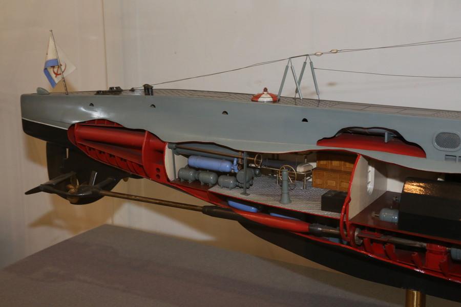 радио модели подводных лодок в